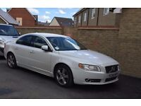 2009 VOLVO S80 SE D DRIVE WHITE very economical low tax and insurance SPAIR or REPAIR