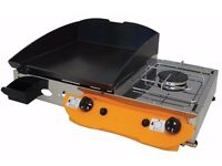 Lpg Griddle- Barbecue- Hot Plate 40x40 cm With Cooker 3kw ELEGANCE 65K