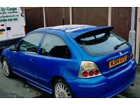 MG ZR 1.4 04REG 62K HPI CLEAR LEATHER INTERIOR TAX TESTED
