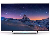 Sony KD49X8309C 49 Inch 4K Ultra HD Freeview HD WiFi LED Smart TV - Black