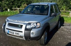 Freelander TD4 Adventurer in Zermatt Silver