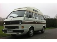 VW T25 AUTOSLEEPER ,12 MONTHS MOT,RECON ENGINE ,NO RUST,FANTASTIC CONDITION