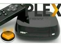 Now tv box with plex added
