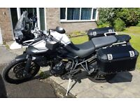Triumph Tiger XC - 62 Plate, Low Mileage, Mint Condition with Panniers, innerbags and a FREE GPS