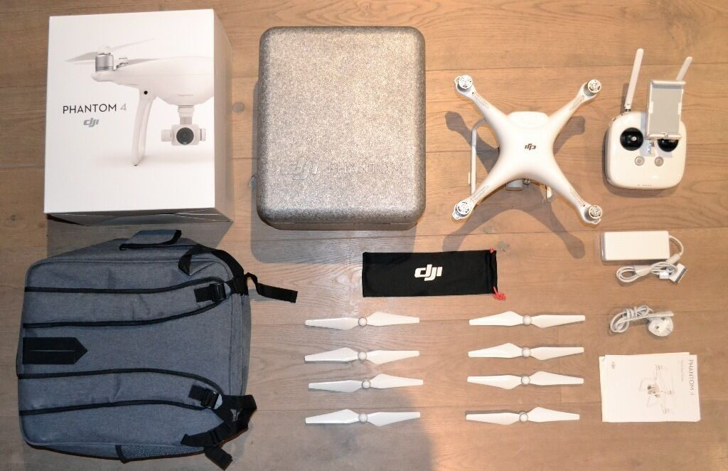 DJI Phantom 4 Drone w\ FULL INSURANCE: no excess to claim - MINT CONDITION