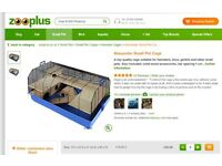 Very Large Cage, + accessories for hamsters or other small animals rrp £99