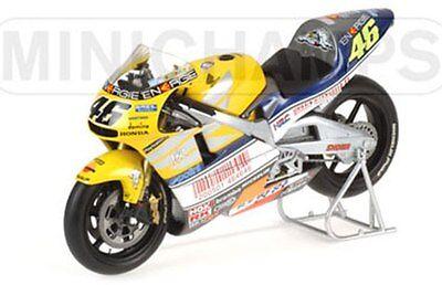 MINICHAMPS Rossi HONDA NSR500 Valentino Le Mans 500cc GP 2001 1:12th 016176 DAM