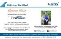 HGS Canada Career Fair - Looking for a change?