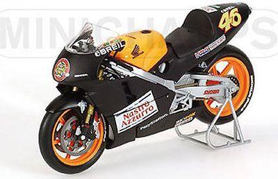 MINICHAMPS 122 006186 HONDA NSR 500 diecast GP Test bike Valentino Rossi 1:12th