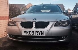 BMW 520D 2009 Silver IMMACULATE CONDITION!!!