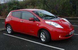 Nissan Leaf Acenta 31 December 2014 With Power Saving Cabin Heater & Solar Panel, Full Electric Car