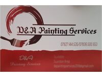 D & A painting services