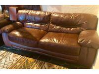 Beautiful Italian Leather Sofa