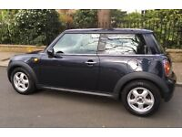2007 AUTOMATIC MINI ONE 1.4 PANORAMIC GLASS ROOF AIR CONDITIONING LOW INSURANCE VERY RARE AUTO 1.4