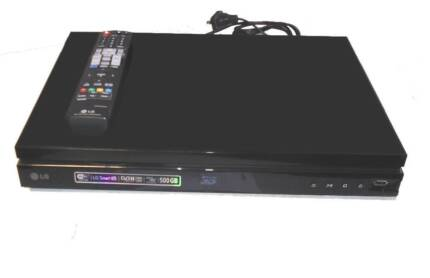 Blu-ray 3D DVD Player PVR 500GB Hard Disk HDD Recorder HDMI WiFi Caboolture Area Preview