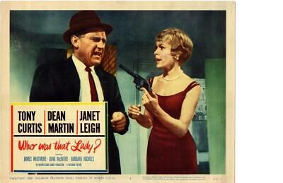 Who Was That Lady 1960 Original Release Lobby Card Janet Leigh