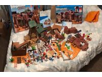 Playmobil Western fort and mine