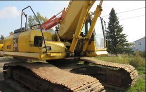 Komatsu pc 300 lc excavator