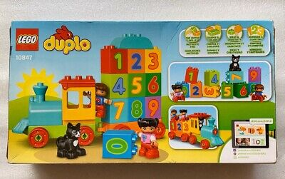 LEGO DUPLO Number Train Preschool Building Toy  #10847