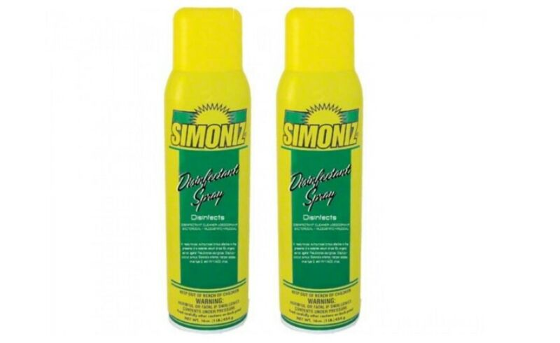 Simoniz Disinfectant Spray Hospital Grade 2pk