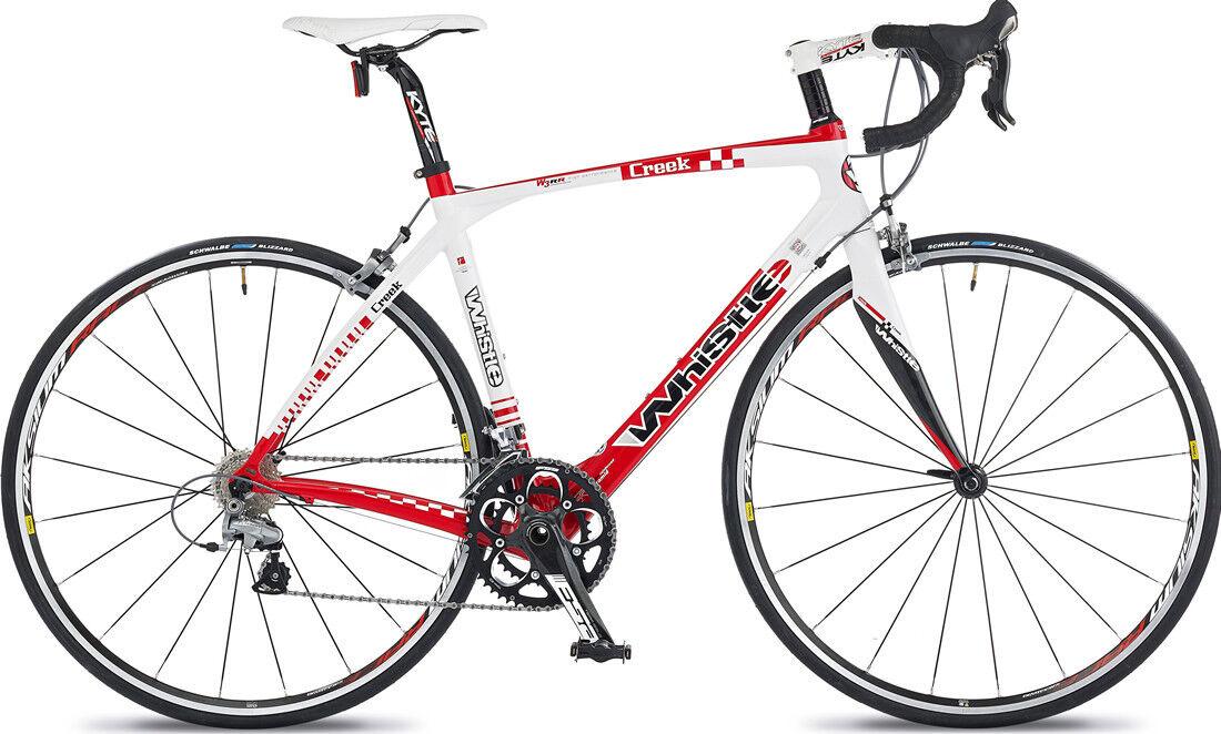 Whistle Creek 700c Road Bike 49cm Carbon Fibre Frame 20 Shimano
