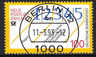 BRD 1993 Mi. Nr. 1659 gestempelt BERLIN 12 , mit Gummi TOP! (16637)
