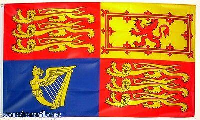 ROYAL STANDARD QUEEN ELIZABETH II FLAG Royalty Monarchy jubilee windsor UK FLAGS