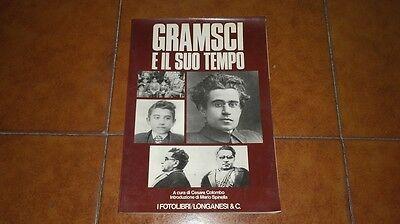COLOMBO SPINELLA OCCHIPINTI GRAMSCI E IL SUO TEMPO ED I FOTOLIBRI LONGANESI 1977