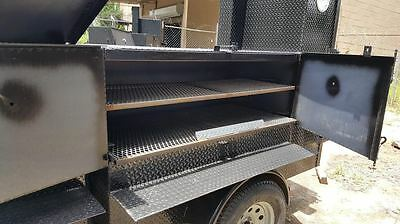 Perfect Draft Blower Street Vendor Bbq Smoker 48 Grill Trailer Food Truck Cart