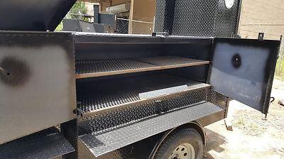 Perfect Draft Blower Street Vendor Bbq Smoker 48 Grill Trailer Food Truck Cart