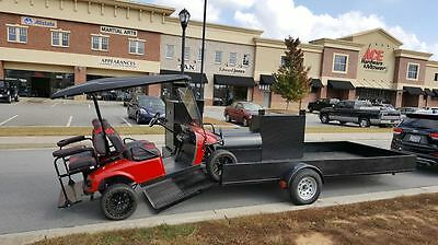Race Track Bbq Smoker Grill Business Atv Golf Cart Motocross Landscape Trailer