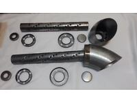 Econo Lake Header Baffles Fit Speedway and Patriot Headers Mufflers W//Flanges