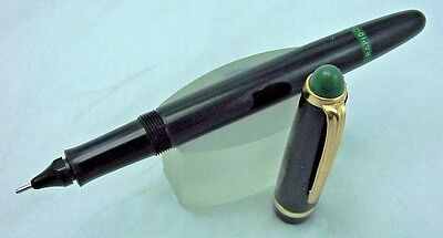 1960s KOHINOOR RAPIDOGRAPH 3060 No.3 Green Top Black/Gold Technical Pen Germany