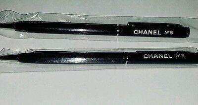 Chanel Vip Gift Pens Black 2pcs