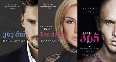 Blanka Lipinska - Ksiazki: 365 dni, Ten dzien, Kolejne 365 dni (polish books)