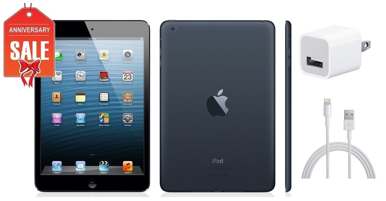 Ipad Mini - Apple iPad mini 1st Gen 32GB, Wi-Fi + 4G AT&T (Unlocked), 7.9in - Black (R-D)
