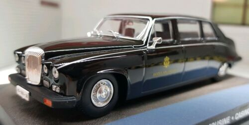 Oxford NDS002 N Gauge 1//148 Scale  Daimler DS420 Black Hearse Funeral