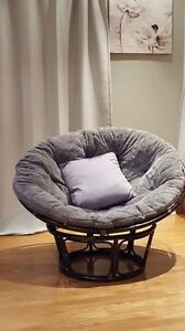 Chair with soft cushion
