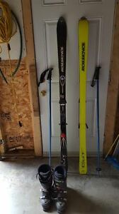 Skis/Boots and Poles