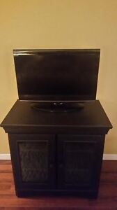 TV/DVD Combo and Entertainment Stand For Sale