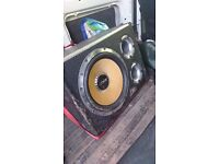 Vibe 12 1600w sub with built in amplifer