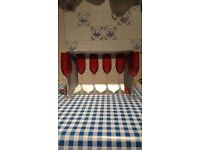 Marks & Spencer - Red Champagne Flutes - Set of 6