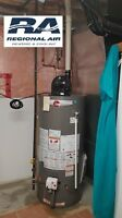 Furnace & water heater SALE - $2100 Rebates - Rent to Own $35