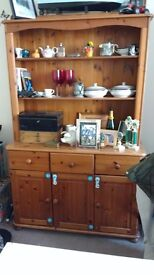 Gorgeous Solid Pine Two Piece Dresser