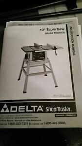 "Delta 10"" Bench Saw with Legs"