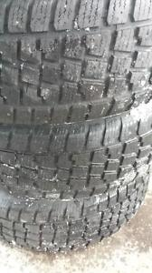 Tires- 235/65 R16 5 bolt pattern with rims