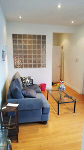 1700$ - Spacious 3 BR- McGill ghetto/Plateau- renovated-Students