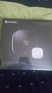 BRAND NEW- EcoBee3 Smart Thermostat, Wi-Fi w/ Remote Sensor