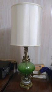 Lamps Green Glass