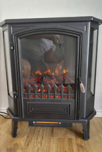 Electric Fireplace - Free standing - New condition